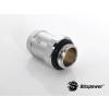 Bitspower G1/4 13mm csatlakozó - ezüst