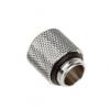 Bitspower hosszabbító G1 / 4 G1 / 4 inch, 15 mm-es - ezüst csillogó