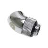 Bitspower Winkel 45° G1/4 - G1/4 - fényes ezüst