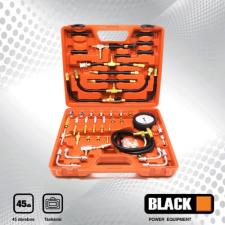 BLACK 45 db-os többfunkciós üzemanyag nyomásmérő készlet, 0-10 bar, 27501 mérőműszer
