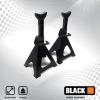 BLACK állítható magasságú alátámasztó bak pár 6T teherbírással 14313