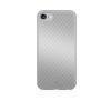 Black Rock iPhone 7/6/6S Flex Carbon hátlap, tok, ezüst