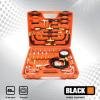 Black többfunkciós üzemanyag nyomásmérő 0-10 bar 45 darabos készlet 27501