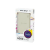 Blow POWER BANK 6000MAH 1XUSB PB12 GRAY