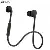Bluetooth headset, nyakba akasztható kivitel, Blautel 4-OK, fekete