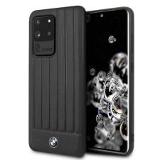 BMW Etui tok BMW BMHCS69POCBK S20 Ultra G988 fekete Signature telefontok tok és táska