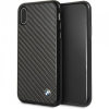 BMW Signature Carbon Hard case iPhone X - fekete