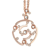 Boccadamo Jewels - bronz nyaklánc-Bloom -rózsaarany