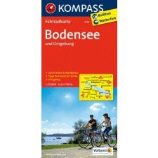 Bodeni-tó és környéke kerékpártérkép - Kompass FK 3113 térkép