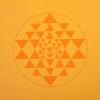 Bodhi Yoga Jógaszőnyeg Bodhi Leela - Sárga- Yantra
