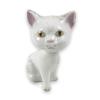 Bólogatós macska finom porcelán