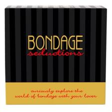 Bondage Seductions - kötözős játék (angol nyelven) társasjáték