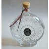 Boros üvegkulacs ón címerrel 0,5 l