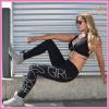 Boss girl fitness nadrág Fekete