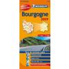 Bourgogne térkép - Michelin 519