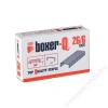 BOXER Tűzőkapocs, 26/6, BOXER (BOX266)