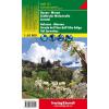 Bozen – Meran – Südtiroler Weinstraße – Sarntal turistatérkép - f&b WKS 1