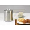 Brabantia Table Bin asztali szemetes fedél nélkül, matt steel