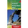 Brandnertal - Nenzinger Himmel - Rätikon turistatérkép - f&b WK 5374