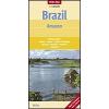 Brazilia: Amazónia térkép - Nelles
