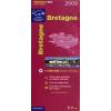 Bretagne térkép - IGN R06