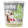 briantos 100g Briantos 'FitBites' kacsa, cékla & zabpehely kutyasnack