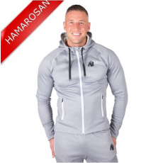 BRIDGEPORT ZIPPED HOODIE - SILVERBLUE (SILVERBLUE) [XXL]