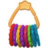 Bright Starts rágóka Fun Links C karika 8 db 3 hó+