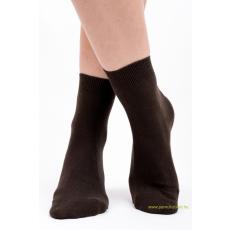 Brigona Komfort pamut zokni 5 pár - barna 37-38