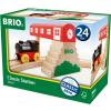 BRIO Klasszikus vasútállomás szett 33615 Brio