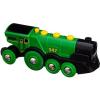 BRIO World 33593 Nagy zöld akció mozdony