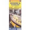 Brisbane & Queensland térkép - ITM