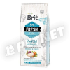 Brit Fresh Adult Large Muscles & Joints Friss Hal sütőtökkel 12kg