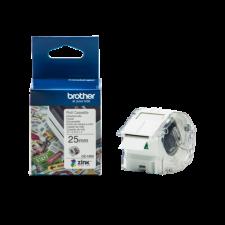 Brother Etikett címke CZ-1004, színes, folytonos szalagtekercs, 25mm, 5m etikett
