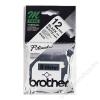 Brother Feliratozógép szalag, 12 mm x 8 m, BROTHER, fehér-fekete (QPTTMK231)
