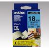 Brother Feliratozógép szalag, 18 mm x 8 m, BROTHER, kék-fekete