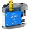 Brother LC223XL C cyan festékpatron - utángyártott chipes PT 10ml J4120DW J4420DW J4620DW J5320DW J5620