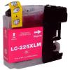 Brother LC225XL M magenta festékpatron - utángyártott chipes PQ 15ml J4120DW J4420DW J4620DW J5320DW J5620DW