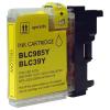 Brother LC39-LC980-LC985-LC1100Y yellow festékpatron - utángyártott NN