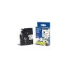 Brother TZ-FX221 / TZe-FX221, 9mm x 8m, fekete nyomtatás / fehér alapon, eredeti szalag