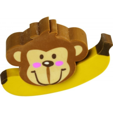 BRUNNEN Radír BRUNNEN Majom banánnal (24db/disp) 102735201 radír