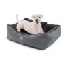 Brunolie Emma, kutyafekhely, kutyakosár, mosható, csúszásgátló, légies, kétoldalas matrac, párna, S-s méret (67 × 20 × 59 cm)
