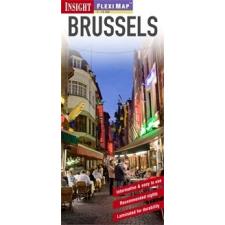 Brüsszel laminált térkép - Insight térkép
