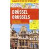 Brüsszel vízhatlan várostérkép tömegközlekedéssel - Marco Polo