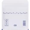 Buborékos Boríték CD, Fehér Légpárnás tasak 180x165 mm