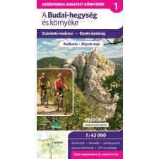 Budai-hegység és környéke kerékpáros és turistatérkép - Frigoria térkép