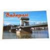 Budapest hűtőmágnes - Lánchíd nappal 9,5x 6,5cm