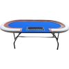 Buffalo Ovális póker asztal