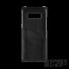 BUGATTI Londra Samsung N950 Galaxy Note 8 valódi bőr hátlap tok kártyatartóval, fekete