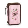 Butterfly emeletes tolltartó - rózsaszín